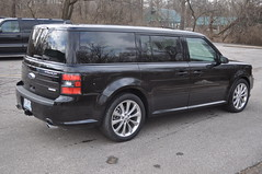"2012 Ford Flex Rear Suicide Doors • <a style=""font-size:0.8em;"" href=""http://www.flickr.com/photos/85572005@N00/8498617226/"" target=""_blank"">View on Flickr</a>"