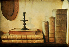 books of Rembrandt (kelsk (having a break)) Tags: holland texture amsterdam nederland books noordholland oldbooks rembrandthuis textuur kandelaar oudeboeken tatot magicunicornverybest magicunicornmasterpiece kelskphotography rememberthatmomentlevel1 rememberthatmomentlevel2 rememberthatmomentlevel3 creativephotocafe workingroomofrembrandt ateliervanrembrandt