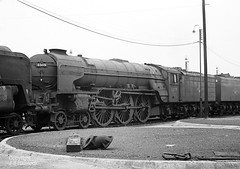 60119 Doncaster MPD 19 07 64 (John-Sydney-Han) Tags: a1 withdrawn doncaster 60119 patrickstirling doncastermpd