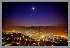 Night View of Muzaffarabad AJK (Karrar Haidri) Tags: pakistan capital azadkashmir saltorosummits