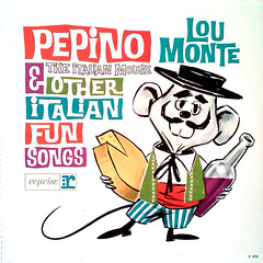 Pepino The Italian Mouse & Other Italian Fun Songs (epiclectic) Tags: music art cheese illustration vintage mouse graphic wine album cartoon vinyl retro moustache collection jacket cover lp record sleeve 1962 epiclectic loumonte