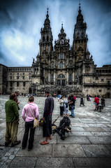 The final step (Photos On The Road) Tags: old tower church vertical facade square outside outdoors town spain ancient europa europe cathedral outdoor landmark medieval unesco chiesa galicia santiagodecompostela piazza arrival antico medievale hdr highdynamicrange caminodesantiago spagna verticale pilgrims cattedrale medioevale pellegrini facciata outdoorshots arrivo elaborazioni galizia camminodisantiago prazadoobradoiro wayofstjames singleexposurehdr outdoorshot flickrsfinestimages1 hdrsingoloscatto