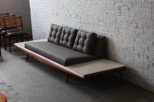 ***ON DECK**Mint Adrian Pearsall Mid Century Modern Platform Sofa (
