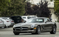 Mercedes SLS AMG (GHG Photography) Tags: california beautiful car canon germany mercedes amazing interesting paint doors automotive exotic german mercedesbenz pebblebeach 300 expensive striking rapper exclusive supercar fastest v8 matte exciting sls sportscar gullwing fastcar coolcar topgear tuned jeremyclarkson ghg matteblack hypercar 60d pebblebeachconcourse ghgphotography gideongillard