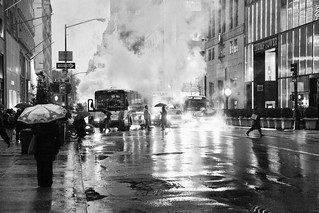 Rainy streets - New-York