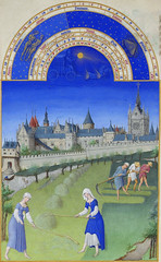 June (petrus.agricola) Tags: les de berry medieval muse illuminated chateau manuscript trs duc chantilly frres riches heures cond limbourg