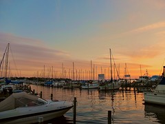 Mandarin Marina Sunset (kzural) Tags: sunset cloud colors clouds digital marina boat florida jacksonville pointandshoot stjohnsriver lifeinthecity fujix10