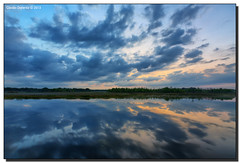 Blue Hour (Fraggle Red) Tags: morning nature clouds sunrise reflections landscape dawn florida wetlands hdr boyntonbeach 7exp calmmorning greencay greencaywetlands canonef1635mmf28liiusm dphdr palmbeachco canoneos5dmarkiii 5d3 5diii