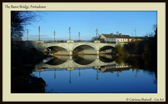 The Bann Bridge, Portadown (Cat-Art) Tags: doublevision portadown riverbann catart~northernireland catrionashatwell~catart~ireland shatwellimages doublevisionimageswebscom