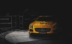 Darkness. (Ni.St|Photography) Tags: black cars car mercedes benz serbia series belgrade coupe beograd sls amg srbija
