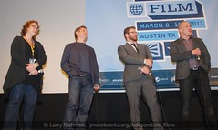 "Q&A, ""Downloaded"" World Premiere (larry-411) Tags: austintexas downloaded napster paramounttheatre shawnfanning sxswfilmfestival seanparker alexwinter janetpierson"