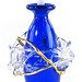 151. Art Glass Perfume Bottle
