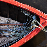 "Blue Ropes and Red Boat <a style=""margin-left:10px; font-size:0.8em;"" href=""http://www.flickr.com/photos/89335711@N00/8595525371/"" target=""_blank"">@flickr</a>"