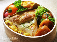 gemuese-blaetterteig-quiche-obento (Token-Bento) Tags: food vegetables lunch japanese bento lunchbox bentobox obento wappa obentobako