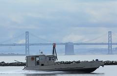 Caltrans workboat_001 (Walt Barnes) Tags: canon eos boat ship vessel richmond calif caltrans sanpablobay 60d canoneos60d eos60d wdbones99