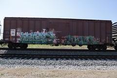 Myst  Same (Revise_D) Tags: railroad art graffiti same rails tagging freight revised myst trainart fr8 tbv benching fr8heaven fr8aholics