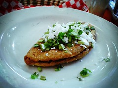 Tlacoyo (87mm) Tags: mxico comidamexicana tlacoyo flickrandroidapp:filter=none