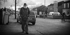 hard times (streetstory) Tags: street uk england people urban blackandwhite monochrome canon manchester photography mono places pancake 40mm socialdocumentary longsight northernengland streetstory johnnydurham april2013