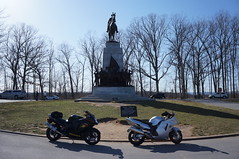 "Monument at Gettysburg • <a style=""font-size:0.8em;"" href=""http://www.flickr.com/photos/94329335@N00/8619391823/"" target=""_blank"">View on Flickr</a>"