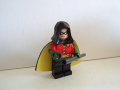Arkham City Robin (-{Peppersalt}-) Tags: robin lego batman dccomics peppersalt arkhamcity