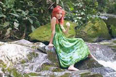 Paula Pereira (Vanderlei Gomes Fotografia :-]) Tags: brazil woman green nature girl brasil model dress natureza mulher modelo redhead teen garota paulo menina so baidu ruiva nucleo engordador magrinha