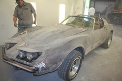 """1973 Corvette Stingray • <a style=""""font-size:0.8em;"""" href=""""http://www.flickr.com/photos/85572005@N00/8634856841/"""" target=""""_blank"""">View on Flickr</a>"""