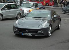 Ferrari FF (kenjonbro) Tags: uk england london westminster grey trafalgarsquare ferrari ff charingcross sw1 worldcars kenjonbro fujifilmfinepixhs10 wu62wym