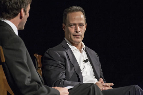 Mark K. Updegrove and Sebastian Junger