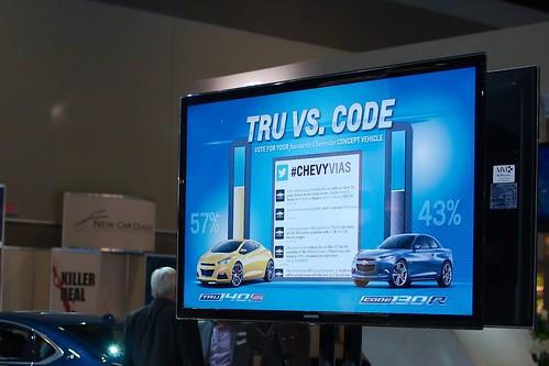 Chevrolet concept cars Tru vs Code