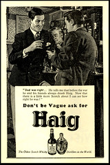 Haig Scotch Whisky (Harald Haefker) Tags: promotion vintage magazine ads print advertising pub publicidad drink reclame ad retro anuncio advertisement nostalgia homoerotic alcohol 1950s advert whisky scotch 1956 werbung alkohol publicit magazin reklame affiche publicitario pubblicit haig rclame homoerotisch pubblicizzazione