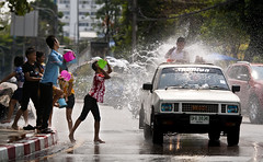 Happy New Year (paza140) Tags: water festival kids thailand play pickup newyear paza140