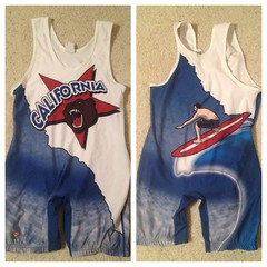 California AL (CAWrestler140) Tags: blue red am al high cut wrestling low large gear whit medium brute singlet freek rulon inflict as kolat