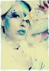 Mermaid (catherine_falcon) Tags: blue sea tattoo star fantasy mermaid bodypiercing
