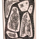 "<b>Nativity</b><br/> Lupori, #1997:08:01, Scratchboard<a href=""//farm9.static.flickr.com/8247/8654572897_b69baf663d_o.jpg"" title=""High res"">∝</a>"