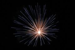 Blue burst (Dan Idoine) Tags: blue long exposure slow fireworks flash firework bang