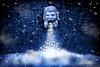 God of Snow (Jersey Rich) Tags: snow philadelphia photoshop artistic digitalart snowstorm arts d80 spirtofphotography artistictreasurechest philadelphiaoldcity