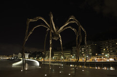 Araa / Spider (isiltasuna) Tags: sculpture espaa museum spider spain country bilbao guggenheim museo araa estatua pays bizkaia basque euskadi vizcaya bilbo museoa