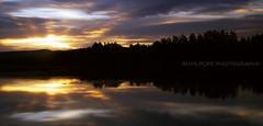 Yarramundi Revisited    LONG EXPOSURE    NEPEAN RIVER (rhyspope) Tags: sunset sky cloud reflection water glass silhouette sunrise canon mirror ray australia bluemountains aussie sunray hawkesbury 500d yarramundi rhyspope