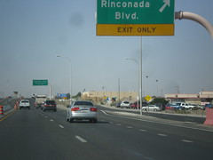 US-70 West - Rinconada IC (sagebrushgis) Tags: newmexico sign intersection overhead lascruces biggreensign us70 freewayjunction bataanmemorialhighway