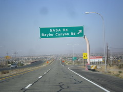 US-70 West - NASA IC (sagebrushgis) Tags: newmexico sign organ intersection overhead biggreensign us70 freewayjunction bataanmemorialhighway