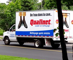 Qualinet (Jacques Trempe) Tags: advertising quebec publicite vehicule stefoy qualinet oublicity