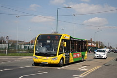 Bulwell Yellow (Moving Britain) Tags: nct nottinghamcitytransport bulwell yj12gyx