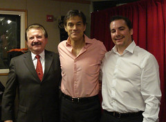 Dr. Stanislaw Burzynski, Dr. Mehmet Oz, and Eric Merola - New York City