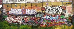 Cowboys (graffiticollector) Tags: white cowboys fight idiot smash para breath mc ms aba easy rez mtm mitte muzik mafia cbs tacheles tg mec selbst tlc the serch powa nve sicherheit 421c denk kontra kripo reicht ehsone riph metafa