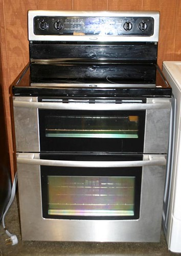 Whirlpool Stainless Flat Top Range w/ 2 Ovens ($336.00)