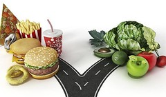 #crossroads : #yammy  #fastfood or #healthy #vegetables ? - i'd visit them both  lol  (Pretty Cool Pic) Tags: pretty cool crossroads yammy  fastfood or healthy vegetables id visit them both  lol