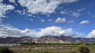 西藏拉薩河 Lhasa River, Tibet