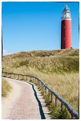 Lighthouse Texel (B. Versteeg) Tags: vuurtoren lighthouse texel schiereiland eiland holland nikon d700 sky blue holiday vakantie walk daytrip ferry dutch duinen zee water salt sea light warm sun