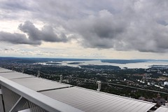 View from Holmenkollen - Oslo (Orry_2000) Tags: top sj sea skyer norge 1855mm view sky himmel oslo holmenkollen norway orry canon 750d cloud fint outdoor ute utsikt eos