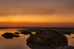 Smoky Sunset: Gunn Point, NT Australia (Shane Bartie) Tags: sunset gunn point beach reflection nt australia shanebartie